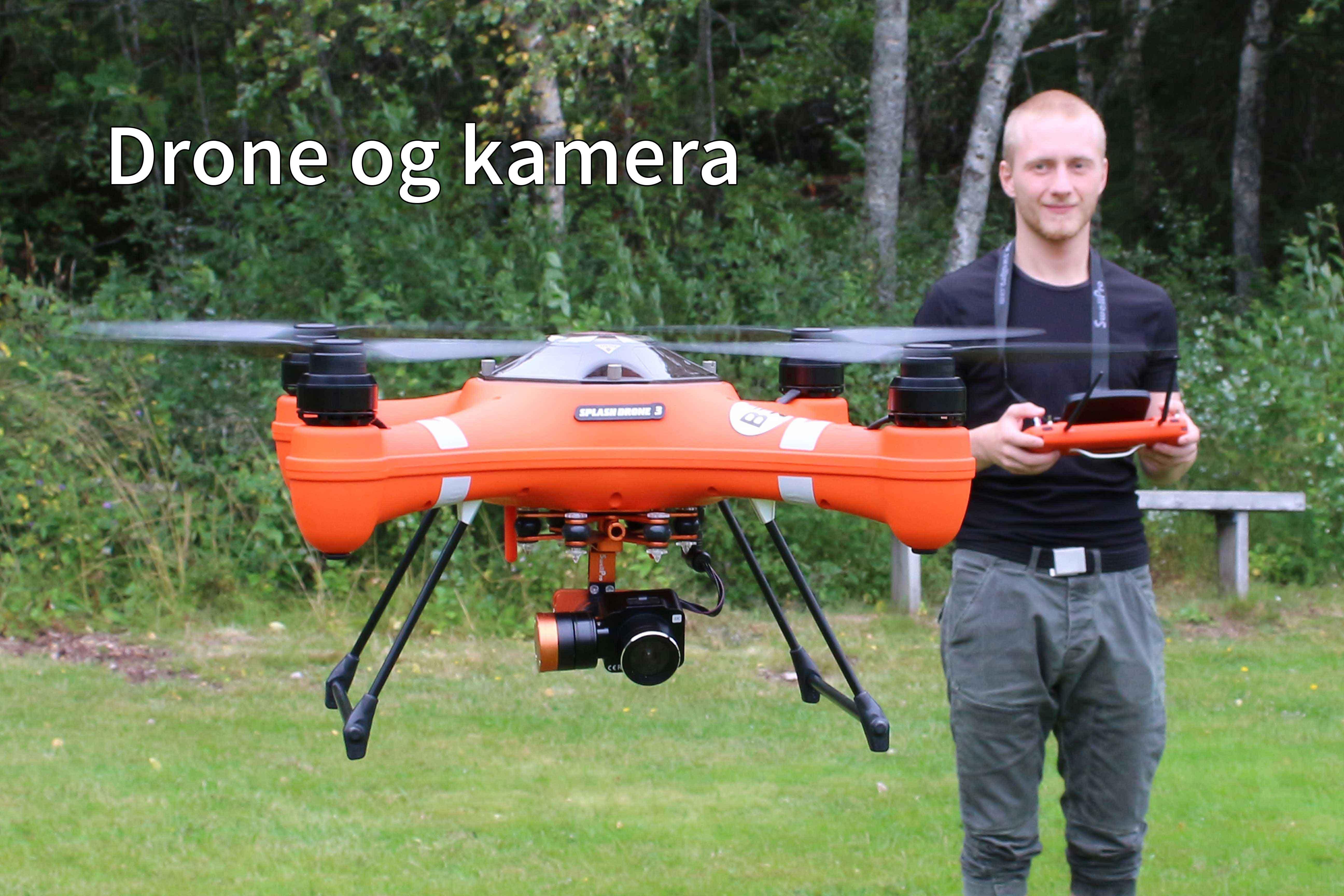 Linja Drone og kamera på Peder Morset folkehøgskole