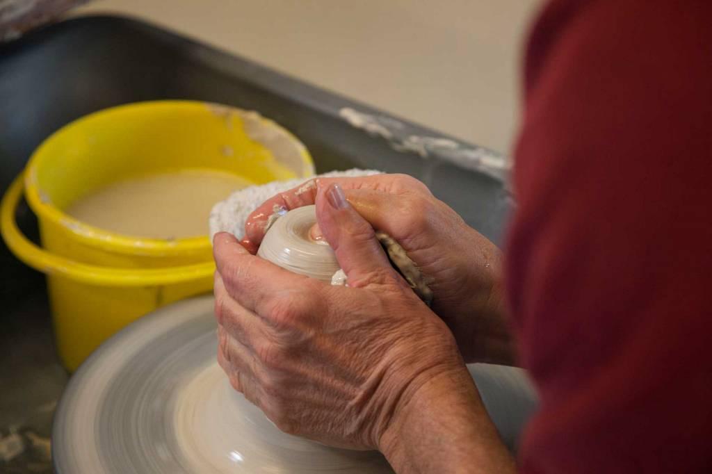 Keramikkarbeid.