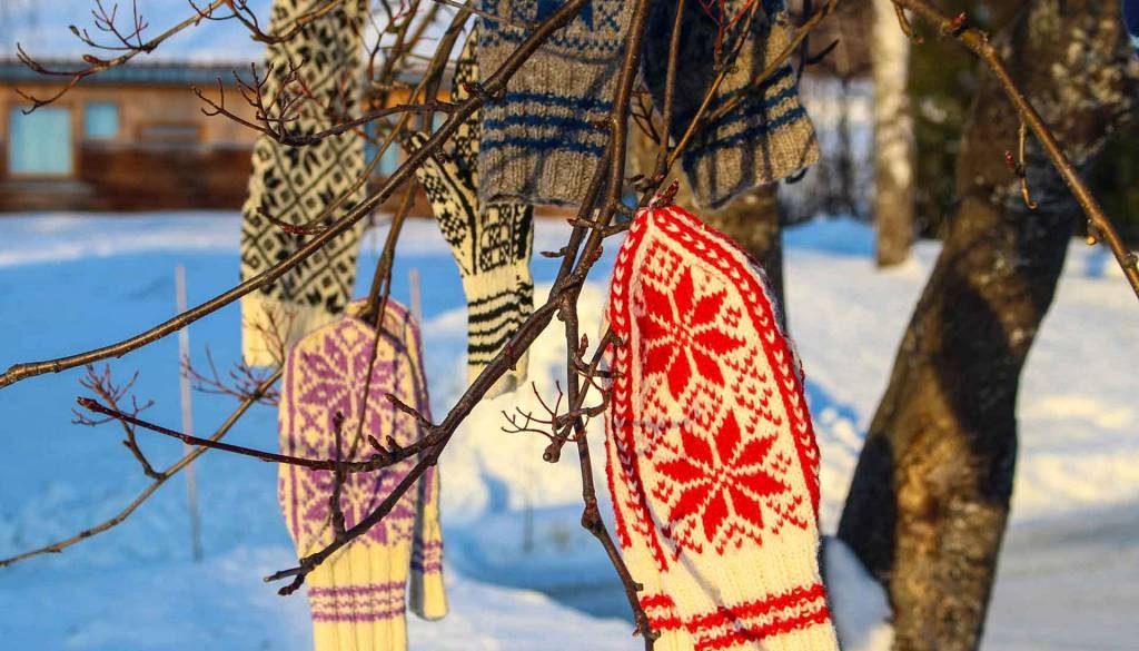 Lær å strikke Selbuvotter på Strikkelinja.