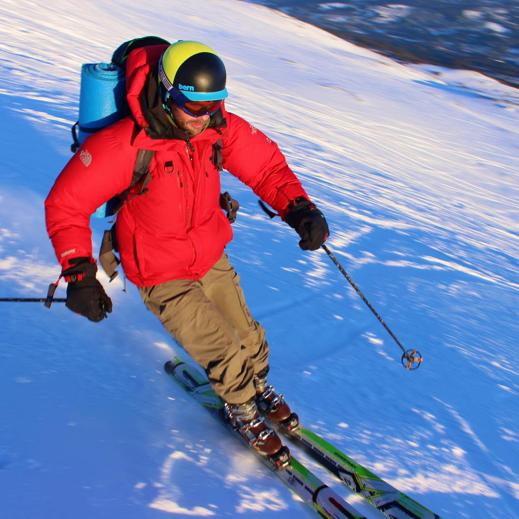 Ski på Mannseterfjellet i Meråker.