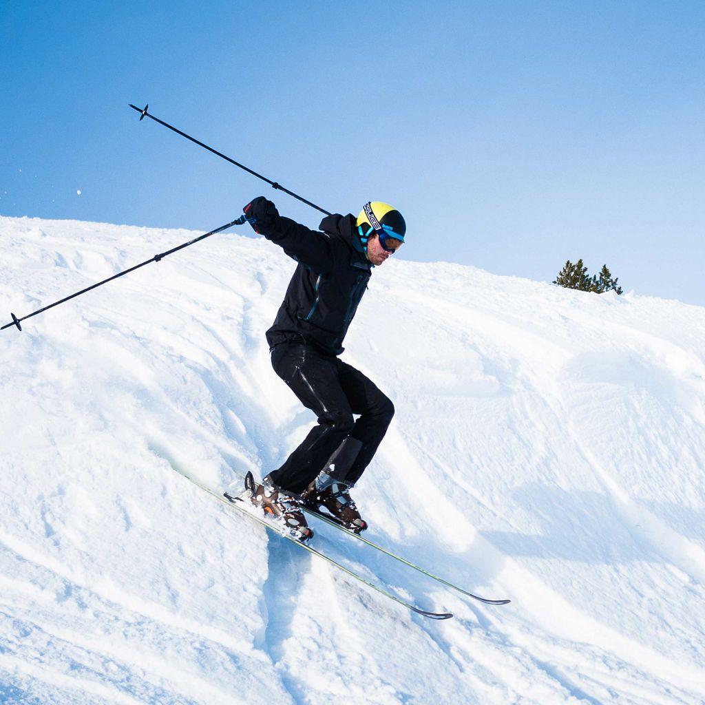 Lærer Pål Støylen på alpint.