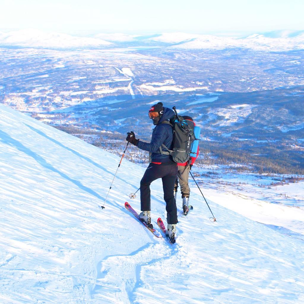 Topptur på Mannseterfjellet i Meråker.
